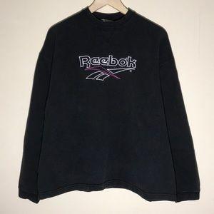 Vintage 1990s Reebok Embroidered Sweatshirt